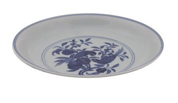 640: Chinese blue and white plate