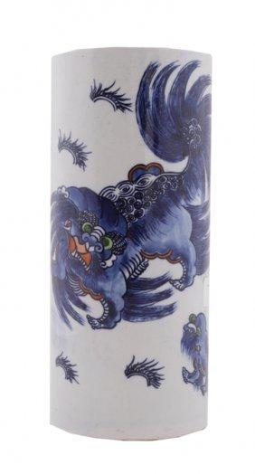 Nineteenth-century Chinese Fo Vase