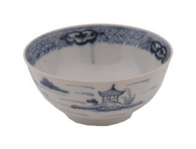 Chinese Qianlong Period Blue And White Bowl