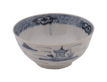 669: Chinese Qianlong period blue and white bowl
