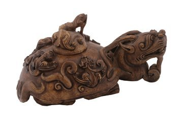 687: Composite dragon tea pot