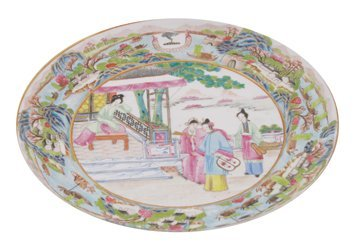 690: Chinese armorial plate