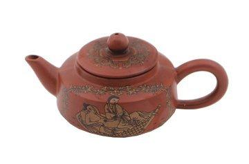 693: Yixing pottery tea pot