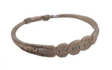 706: Chinese silver plated bangle