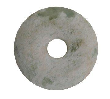 710: Qing dynasty jade celadon disk
