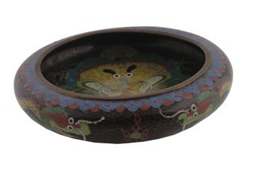 716: Chinese cloisonne and enamelled bowl