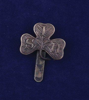 572: South Irish Horsecap badge