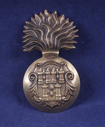 574: Royal Dublin Fusiliers cap badge