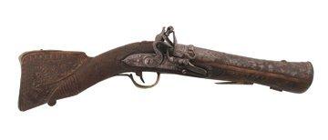 761: Early eighteenth-century Turkish flintlock blunder