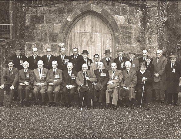 1187: Photograph  Veterans of the Great War