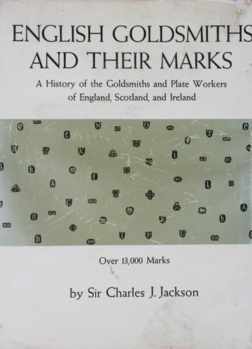 1189: English Goldsmiths and their marks
