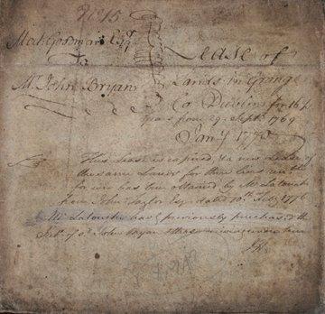 1192: Indenture of lease between Nathenial Goodman