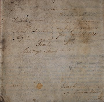 1193: Indenture of lease between Patrick Dunne od Corba