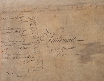 1194: A settlement between Philip Tuite, James and Thom