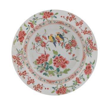 Eighteenth century Chinese famille rose deep bowl