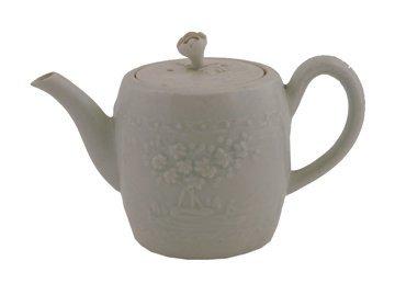 Eighteenth century Chinese Blanc de Chine teapot