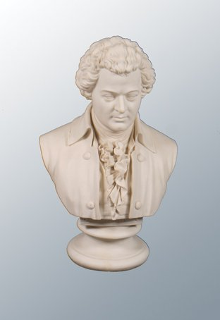 Large nineteenth-century Parian bust