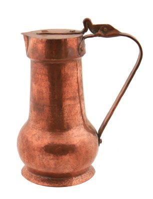 Nineteenth-century copper tankard