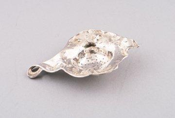 Art Nouveau period sterling tea strainer