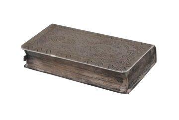 Nineteenth-century silver vesta box