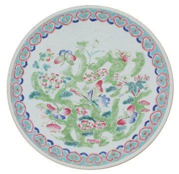 Mid nineteenth-century Chinese famille rose porcelain c