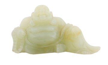 Chinese twentieth-century jade Buddha
