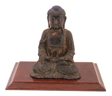 Ming period bronze Buddha