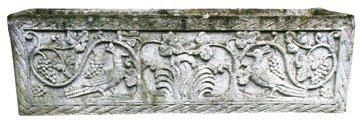 Pair of early twentieth-century reconstituted stone