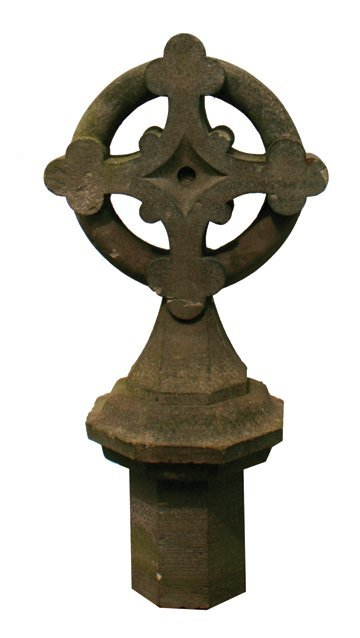 Nineteenth-century stone Celtic cross