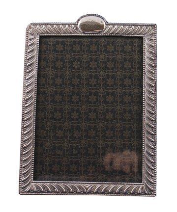 Large silver frame ,