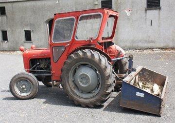 Vintage Massey Ferguson 35, 4-cylinder tractor ,