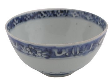 Early Chinese blue and white bowl,