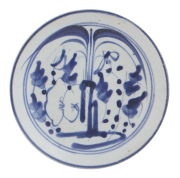 Early Chinese blue and white saucer dish