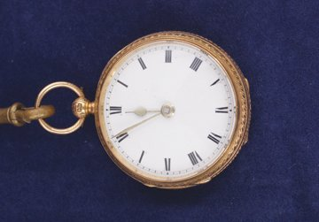 Ladies gold fob watch