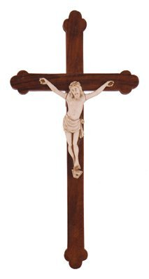 Early twentieth-century ivory crucifix