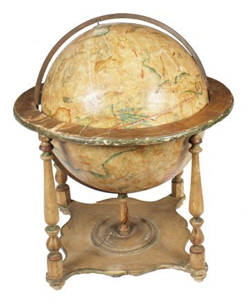 Seventeenth-century celestial globe