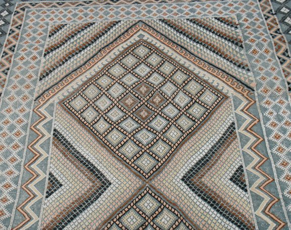 North African tribal rug