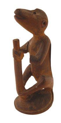 Nineteenth/twentieth-century African carved figure of a
