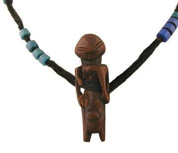 Nineteenth/twentieth-century  African pendant necklace