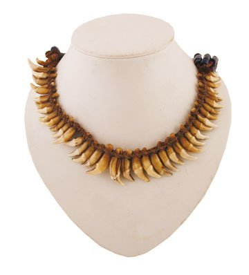 Nineteenth/twentieth-century African bead and bone