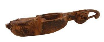 Nineteenth/twentieth-century  African carved lute