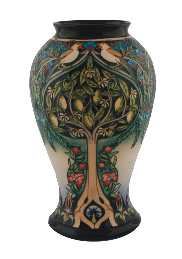 Signed Rachel Bishop limited edition Moorcroft vase