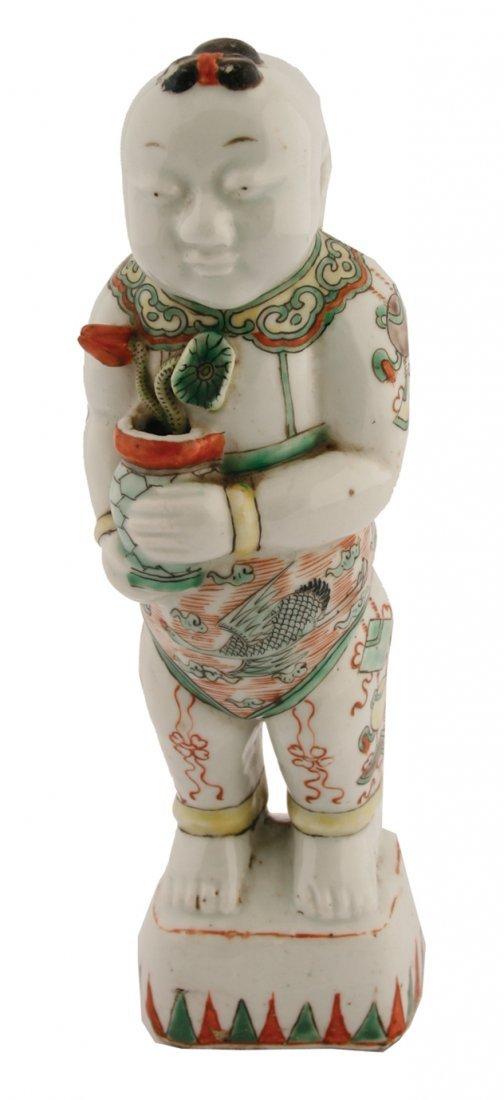 Kangxi period famille verte figure