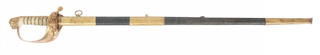 Early nineteenth-century naval British sword