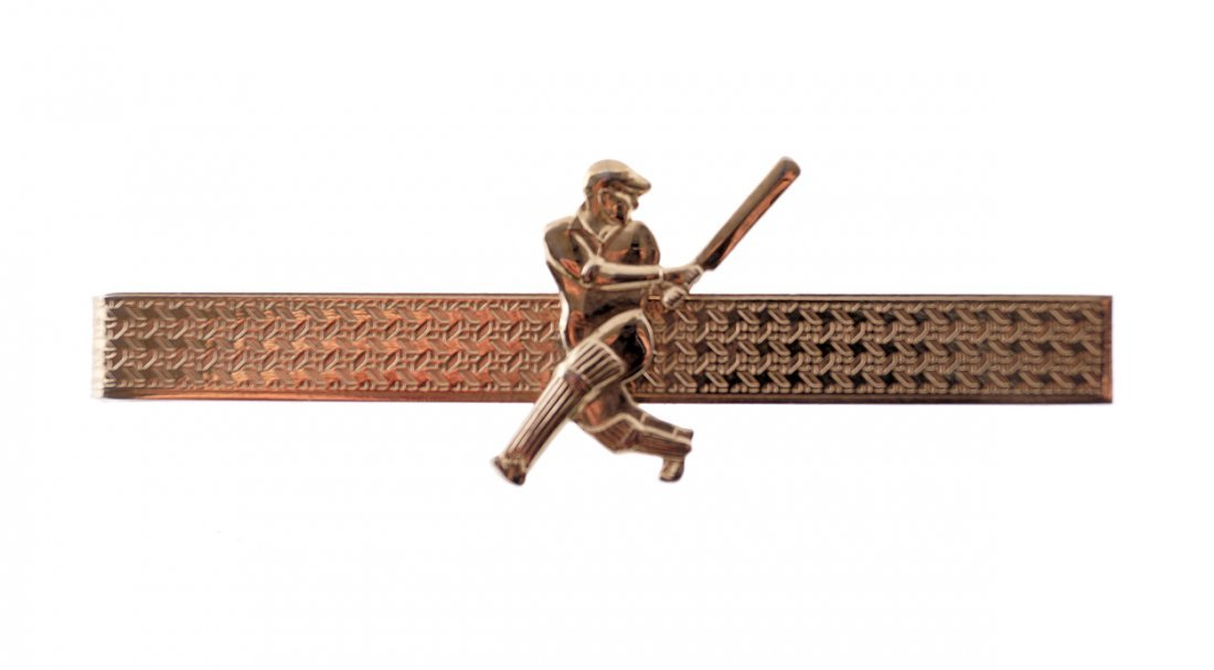 Stratton cricket tie clip