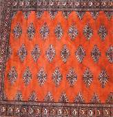 Antique Persian Bokhara rug