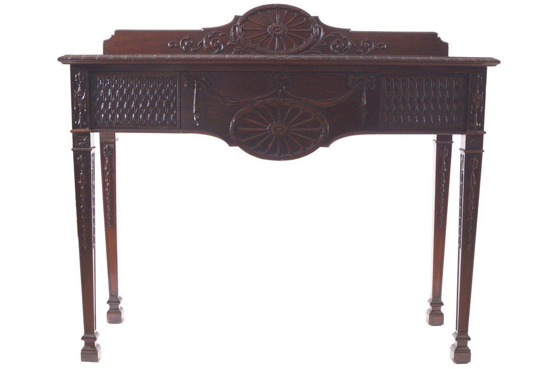 Dublin Edwardian period mahogany side table