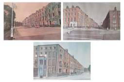 Set of four Limited edition prints