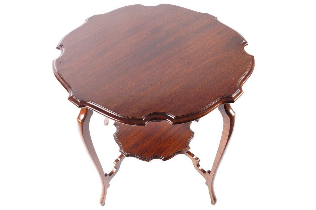 Edwardian period mahogany occasional table