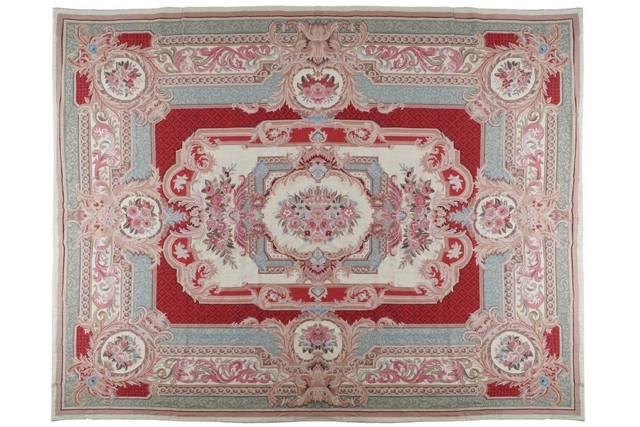 FRENCH AUBUSSON TAPESTRY CARPET